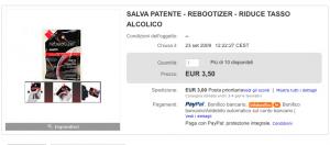 Bizzarra inserzione su eBay