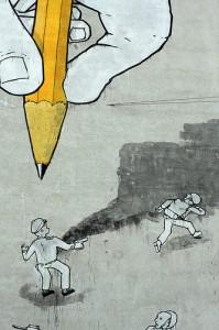 Disegnare strisce blu: la nuova passione dei Comuni