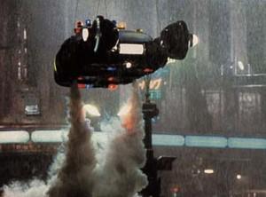 Il mitico spinner di Blade Runner