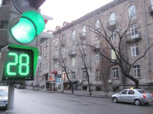 Conto alla rovescia al semaforo